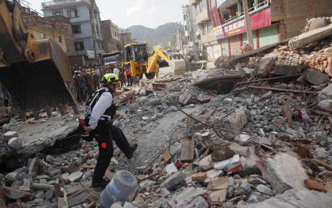 Catástrofes-Terremoto catastrófico en Nepal 2015